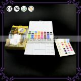 12/18/24/30 colors watercolor paint set New styles water color set with watercolor brush