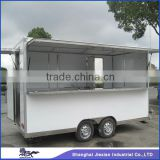 JX-FS420 Commercial Stainless Steel Outdoor Customized mobile food canteen