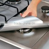 2016 PTFE Non-stick Gas Hob Protectors Easy to use Reusable non-stick bbq cooking mat stove liner