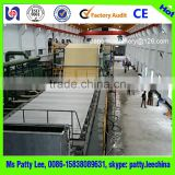 High speed waste paper recycling machine and printing paper A4 paper making machine with 1800 15T/D capacity