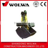 rotate shell type bucket for well-known brand excavators