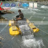 River Sand Alluvial Gold Mining Equipment