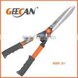 steel handle hand pruners and grass shears