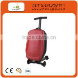 2014 hot selling luggage scooter, suitcase luggage