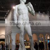 Life size stone carving art david statue male nude sculpture for sale