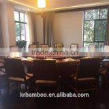 High quality bamboo furniture for dining private room use