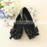 new arrival kids flower girl bow tie school shoes girl dance wear princess shoes for girl for 2 years old