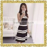 Customized dresses dress striped women and ladies skirt customized casual dresses garment