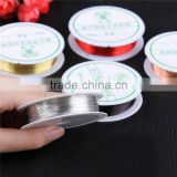 Newest Jewelry Findings 0.3mm Silver Gold Plated Copper Wire Craft Beads Jewelry Making DIY Essential Jewelry Cord