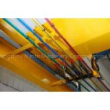 C-shape Steel / Plastic / Aluminium 80A~1000A Overhead Crane Parts With Conductor Systems