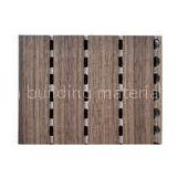 12mm Acoustical Contemporary Wooden Wall Panels , Light Weight