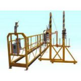 High working Powered Suspended Platform Cradle Scaffold Systems with Safety Lock