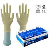 Hot Sale cheap sterile latex gloves with competitive price