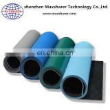 China Manufacture factory esd thin rubber mat apple green color