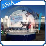 Take Photos Inflatable Snow Globes, 4m Dia Clear Inflatable Bubble Tent Outdoor Inflatable Exhibition Dome For Party