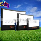 inflatable screen advertisement