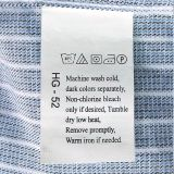 China Garment Accessories Best Quality Cotton Polyester Textiles Printing Label
