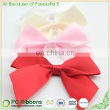 "Various 1"" satin packing pre tie bows for gift packing"
