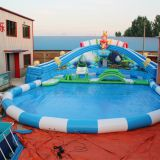 Giant inflatable water park ax-08