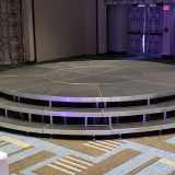 Cheap Outdoor Aluminum Circle Circular Round Portable Stage Platform For Wedding