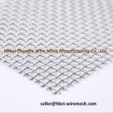 High Carbon Steel Crimped Woven Wire Mesh / Vibrating Screen Mesh