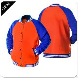 Custom Sublimated Sports Warm-Up Jackets Wholesale,Men Sports Plain Stripe Varsity Track Jackets