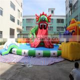 2015 backyard inflatable playground, giant inflatable playground for kids