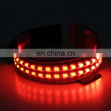 3 Modes Nylon Reflective LED Armband for Night Outdoor Activities