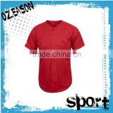 China Cheap Blank Baseball Jerseys,Fashion Plain Baseball Shirts