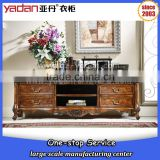 Living room cabinet hand painted antique furniture tv table, tv desk stand designs 2016                                                                         Quality Choice