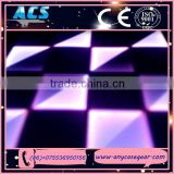 ACS disco dance floor material acrylic pole dance stage, high quality led disco floor for sale