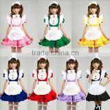 High Quality Uniform Clothes Sexy Dress Japanese Lolita Maid Dress InuXBoss SS Anime Cosplay Halloween Costume Fancy Dress