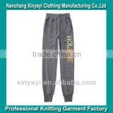 As For Your Logo Design Long Pants China Bulk Yoga Pants Garment Sweat Pants China Supplier OEM Serivce