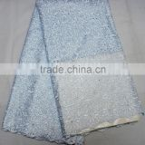african wedding cloth dry lace/cotton fabric/siwss voile lace man use L306-3