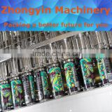 Brewers choice carbonated drinks aluminum can packing line beer filling&capping line