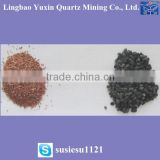 black color sand/silica ultra-fine sand 200mesh