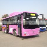 35-38seats 8.6meters length Rear engine bus passenger door before the front Axle