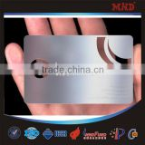 MDC1345 promotion metal business card hollowed-out metal card cheap