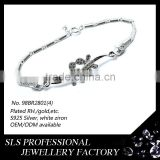 Free To Fly for dragonfly jewelry bracelet for freedom girls fashion 925 silver bracelets with CZ aaa micro paved