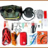 Wholesale car first aid kit bags used widely in outdoor activities