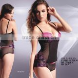 Newest hot fashinal sexy ladies' transparent body shaper sets Lingeries 83167
