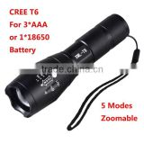 ALITE Brand High Power Military Tactical XML T6 LED g700 Flashlight                                                                         Quality Choice