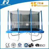 7ft x 10ft Rectangular trampolines with enclosure, Jumping mat with UV resistant, EPE frame pad