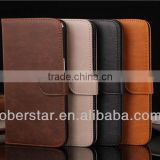 Fashion Vintage Cowhide Grain Card Purse Holster High-end Mobile Phone Protection Case For LG G pro Lite D686/D685