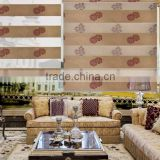 2016 Neweste Jacquard Design and Blackout Fabric Material and Horizontal Pattern Home Decoration Roller Blinds