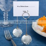 Hot Sell Choice Crystal Collection Crystal Ball Place Card Holders Wedding Table Decorations Supplies