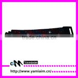 7 rows crystal rhinestone leather bracelet with heart clasp various sizes for selection OEM
