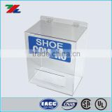 Acrylic Shoe/Boot Cover Dispenser for Safety Disposable and Chemical Resistant Clothing Shoe Cover and Hairnet Dispensers
