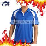 High quality full sublimation polo shirts, men's polo shirts, custom dri fit polo shirts