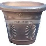 Bulk plastic antique ceramic blue glazed lowes cemetery flower pot